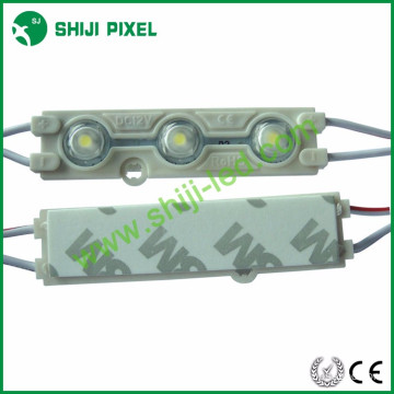 Factory Wholesale outdoor IP66 waterproof single color DC12V 0.72W Epistar 5050 with lens injection led module